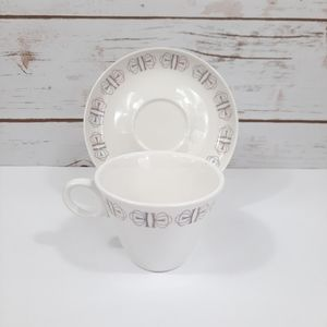 """Franciscan """"Merry Go Round"""" Tea Cup and Saucer"""